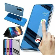 Smart Mirror Flip Case Huawei P30 P20 P10 Pro Mate 20 10 9 Honor 8X Lite... - $13.44+