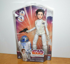 STAR WARS PRINCESS LEIA & R2-D2 Doll Set Forces of Destiny MISP Hasbro 2... - $8.60