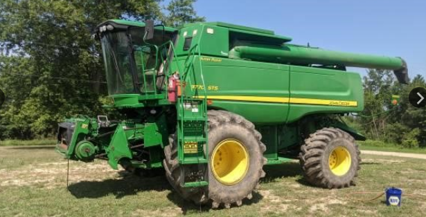 2008 JOHN DEERE 9770 STS For Sale In Allendale, Michigan 49401