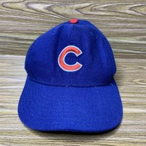 Vintage New Era Diamond Collection Chicago Cubs 100% Wool Fitted Hat Siz... - $24.68