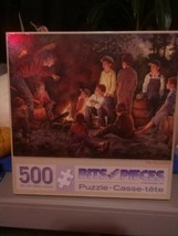 Bits and Pieces New Factory Sealed The Storyteller 500Pcs. Puzzle - $14.82
