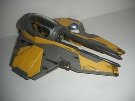Vintage 2004 Hasbro Star Wars Clone Wars Anakin Skywalker Star Fighter Ship - $19.99