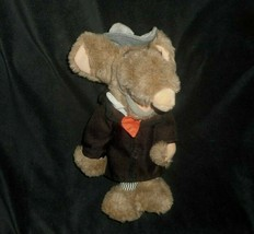 VINTAGE 1987 THE TOUCHABLES COMMONWEALTH YOU DIRTY RAT STUFFED ANIMAL PL... - $28.05