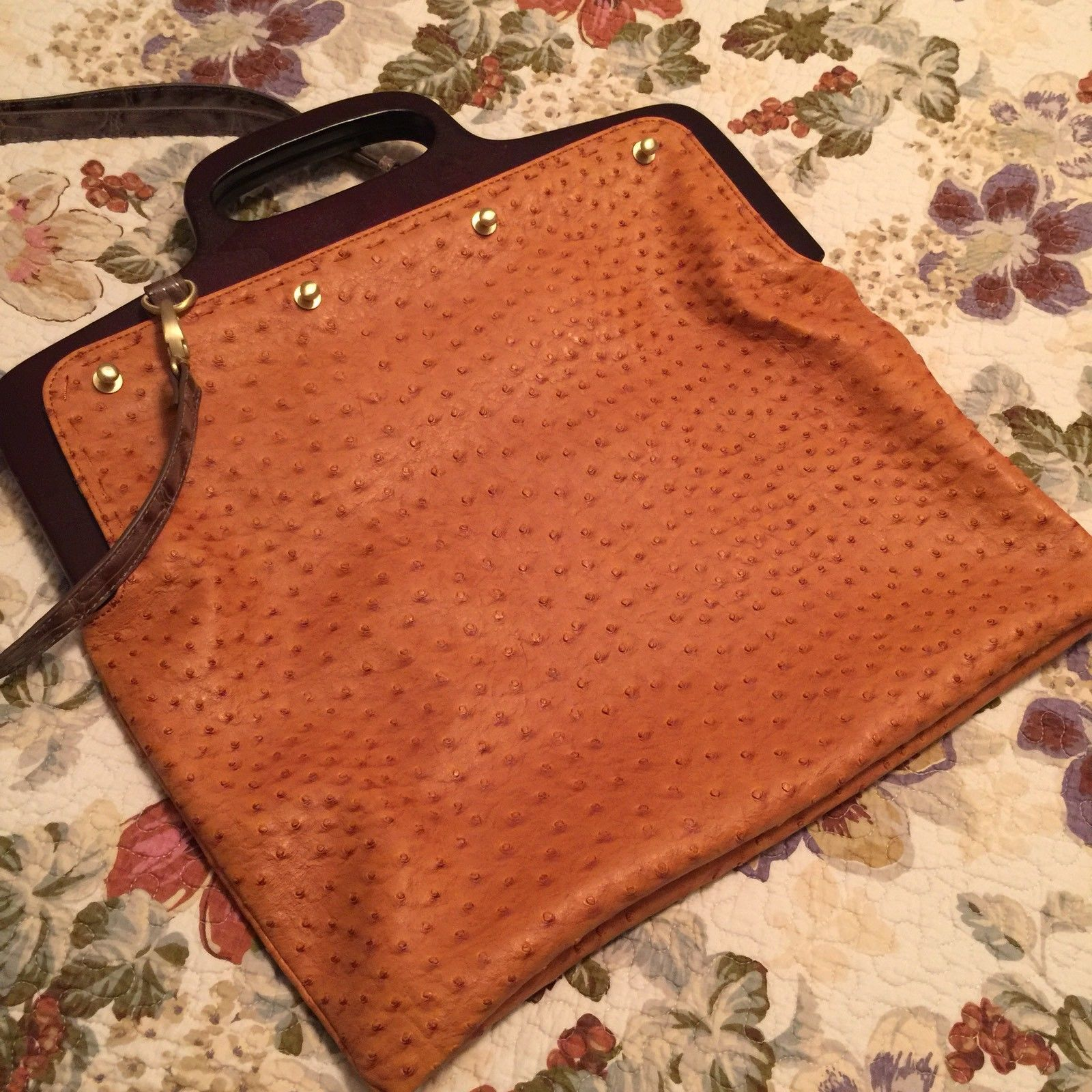 1f13041abd76 Dee Ocleppo Hilfiger Monaco Tote Ostrich and 50 similar items
