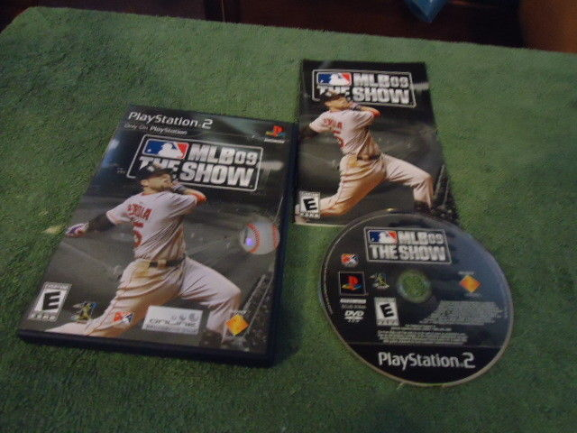 Primary image for MLB 09: The Show (Sony PlayStation 2, 2009) complete !