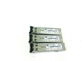 Lot Of 3 J4858C Hp Procurve X121 1G Sfp Lc Sx Transceiver - $47.67