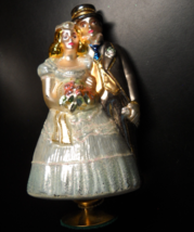 Kurt S Adler Polonaise Christmas Ornament Wedding Couple Komozja Blown Glass - $29.99