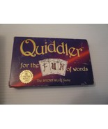 """Vintage 1998 """"Quiddler for the FUN of Words Card Game The Short Word Game - $5.94"""