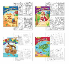 "Coloring & Activity Book Pack - ""Bible Activity & Coloring Book"", ""Adven... - $11.73"