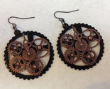 Earrings steampunk antq copper  1  49  6 thumb155 crop