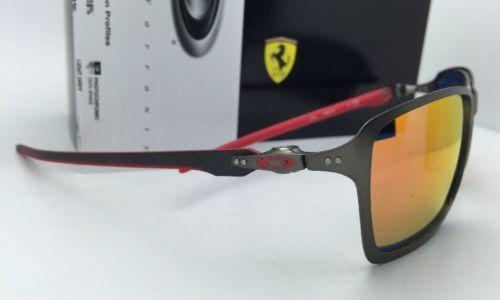 af4adff7e4 OAKLEY Sunglasses Scuderia FERRARI Edition TINCAN CARBON OO6017-07  Gunmetal-Red