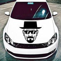( 24'' x 23'' ) Vinyl Wall Decal Breaking Bad Heisenberg with Sunglasses / Art D - $25.04