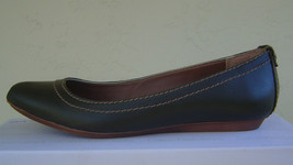 NEW CALVIN KLEIN BROWN LEATHER POINTED  FLATS PUMPS SIZE 8 M $79 - $32.99
