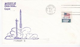 PIONEER G MISSILE FIRED FROM CAPE CANAVERAL APRIL 6 1973 - $1.98