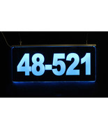 Personalized Lighted Address Sign - Custom LED Sign - $198.00