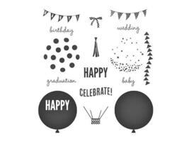 Stampin' Up! Celebrate Today Clear Cling Stamp Set #137138