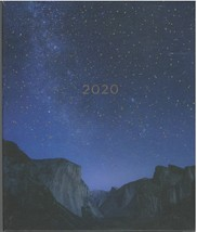 2020 Planner Mountain Galaxy August 2019 to December 2020 - $32.00