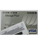 Expired 05/2009 Chase Bank United Airlines Visa Credit Card - $16.98