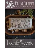 Teenie Weenie cross stitch chart Plum Street Sa... - $9.00