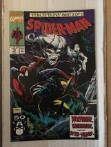 Spider-Man #10 Marvel Comic Book 1991 VF+ Wolverine Wendigo / Todd McFar... - $3.59