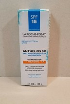 NEW La-Roche Posay Anthelios SX Daily Moisturizer with Sunscreen 3.4 oz 100 g - $29.99
