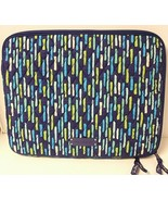 "Vera Bradley 11"" x 14"" Laptop Sleeve in Katalina Showers VGC - $12.00"