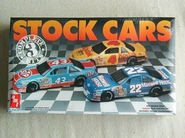 FACTORY SEALED AMT 3 Complete Stock Car Trio #8910 Grand Prix Chevy Thun... - $29.69