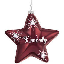 Birthstone Star Ornament-plainDecember - $23.73