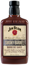 Jim Beam Smoky Barrel Barbecue Sauce, BBQ Grilling Sauce, 18 oz. - $7.50