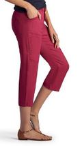 Lee Platinum Capri Pants, Berry, Size 10 Medium, , MSRP $56 - $24.74