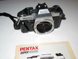 VINTAGE CAMERA - PENTAX SUPER PROGRAM W/BOOKLET   -  EXC - $87.22