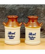 Mackinac Island Salt and Pepper Shakers Milk Jug Container - $14.24