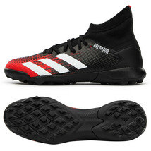 Adidas Predator 20.3 TF Turf Football Shoes Soccer Cleats Black EF2208 - $95.99