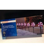 Sylvania LED Peppermint Pathway Markers Indoor Or Outdoor 7 Set - $29.70