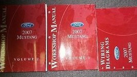 2007 Ford Mustang Gt Cobra Mach Service Shop Repair Manual Set W EWD Fac... - $188.04