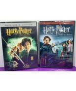 Lot of 2 Harry Potter DVD Movies NEW SEALED Chamber Secrets Goblet Fire - $9.89