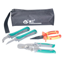 5pcs/set Multifuntional Combination Pliers Wire Stripper Set For Cable C... - $52.10