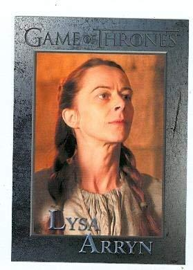 Game of Thrones trading card #56 2012 Lysa Arryn
