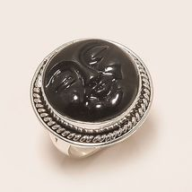 MAGIC MOON ONIX RING FOR PROTECTION ,FAMILY, LOVE AND HOME MOOSHU SPIRIT - $228.00
