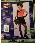 Halloween Costume Girls Teen Lacey Goth Dress Size S Petite (4-6) - $5.99