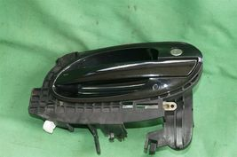 02-04 BMW E65 Exterior Outside Door Handle Front Left Driver - LH [BLACKSAPHIR] image 7