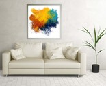 Wall Art Decor Modern Abstract Art, Original Acrylic Abstract Painting, Canvas  - £1.00 GBP