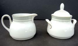 Royal Doulton Sugar and Creamer With Lid - Berkshire Pattern - $23.74