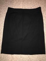 Gap Size 2 Black Cotton Stretch Pencil Skirt Size 2 - $6.99