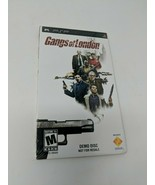 Gangs of London PSP Demo Disc Sony NEW SEALED Promo PS PlayStation Under... - $19.79