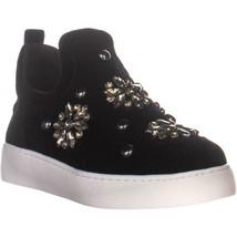 Nine West Perfume Jeweled Slip-On Sneakers, Black, 5 US - $29.75
