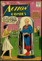 ACTION COMICS #256 1959-SUPERMAN LOF THE FUTURE-S'GIRL  G - $37.83