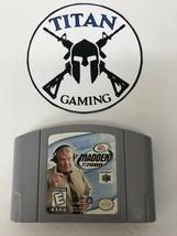 Madden NFL 2000 (Nintendo 64, 1999) - $6.65