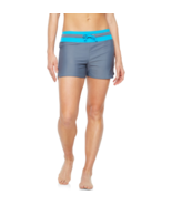 Free Country Swim Shorts Size M, XXL New Msrp $49.00 Grey/Turquoise   - $24.99