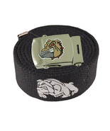 "Men's ""BULL DOG"" Military Canvas Web Belt Buckle Waist Straps 48,54,60,7... - $9.89+"